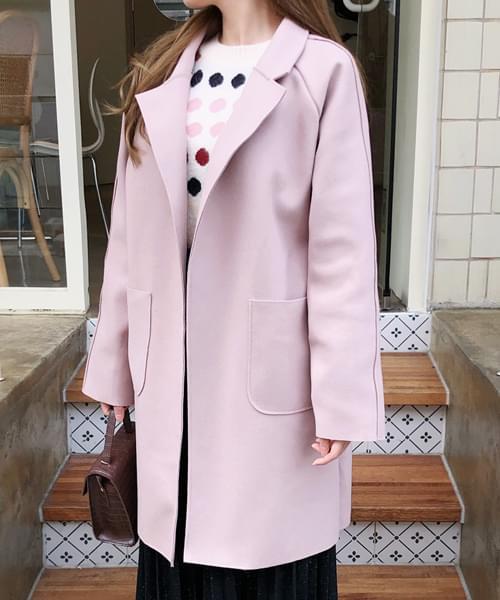 Neat loose fit coat