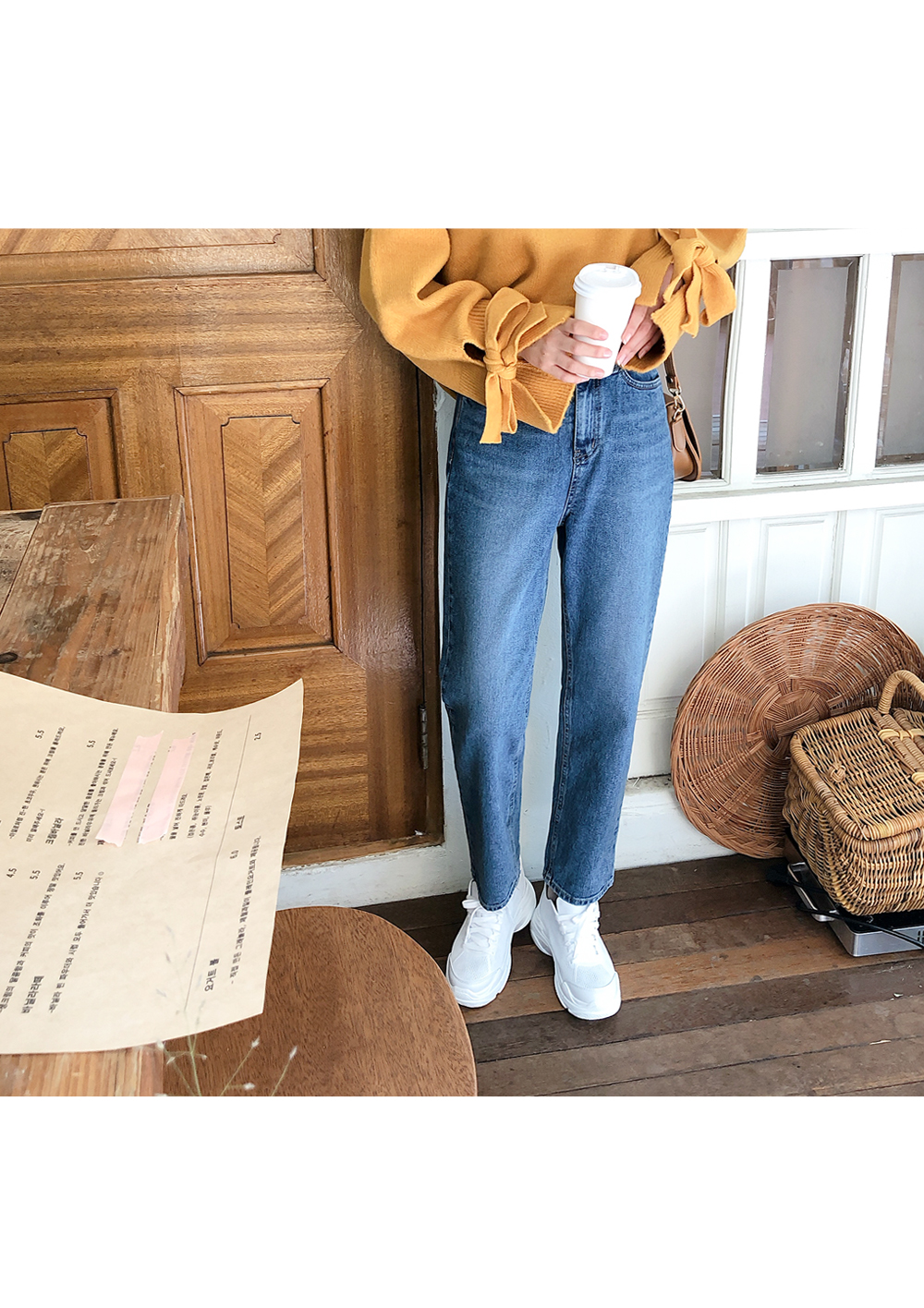 Wide Straight Fit Pants