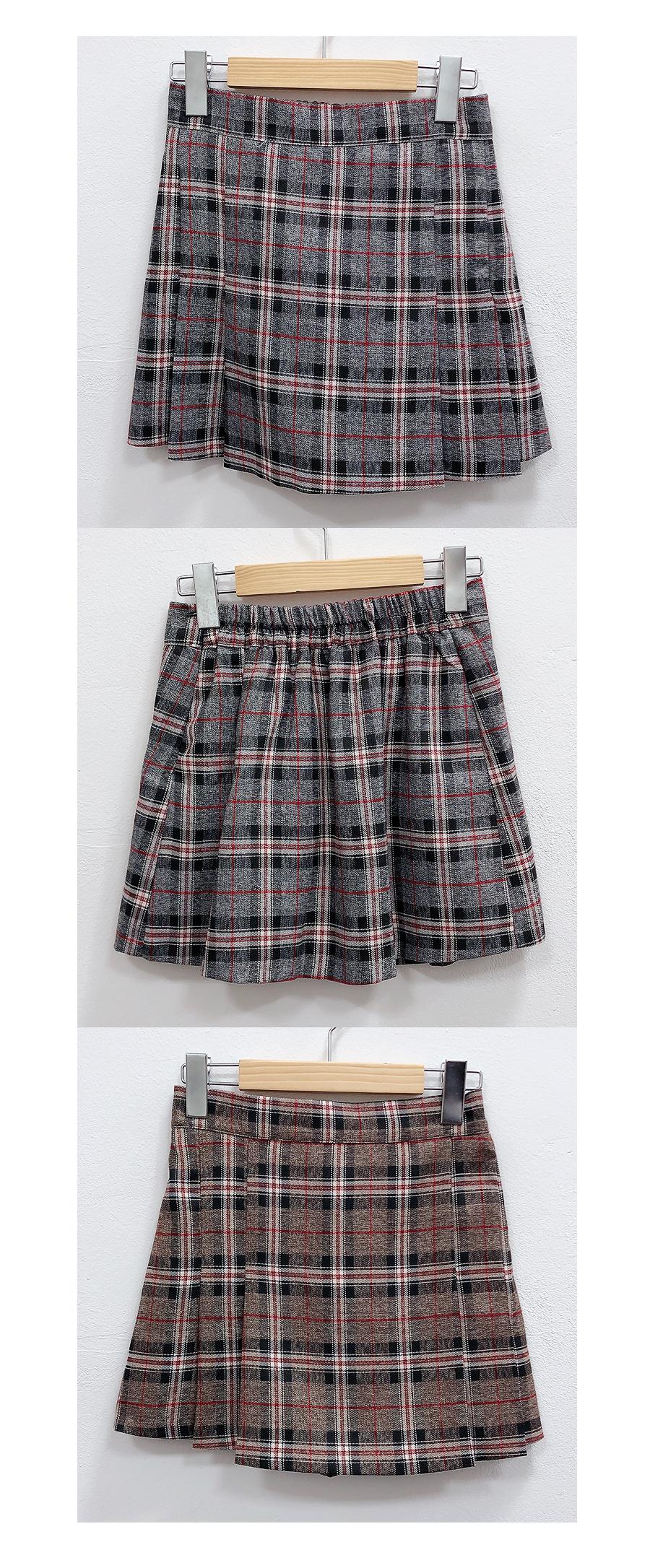 Chex mini skirt pants