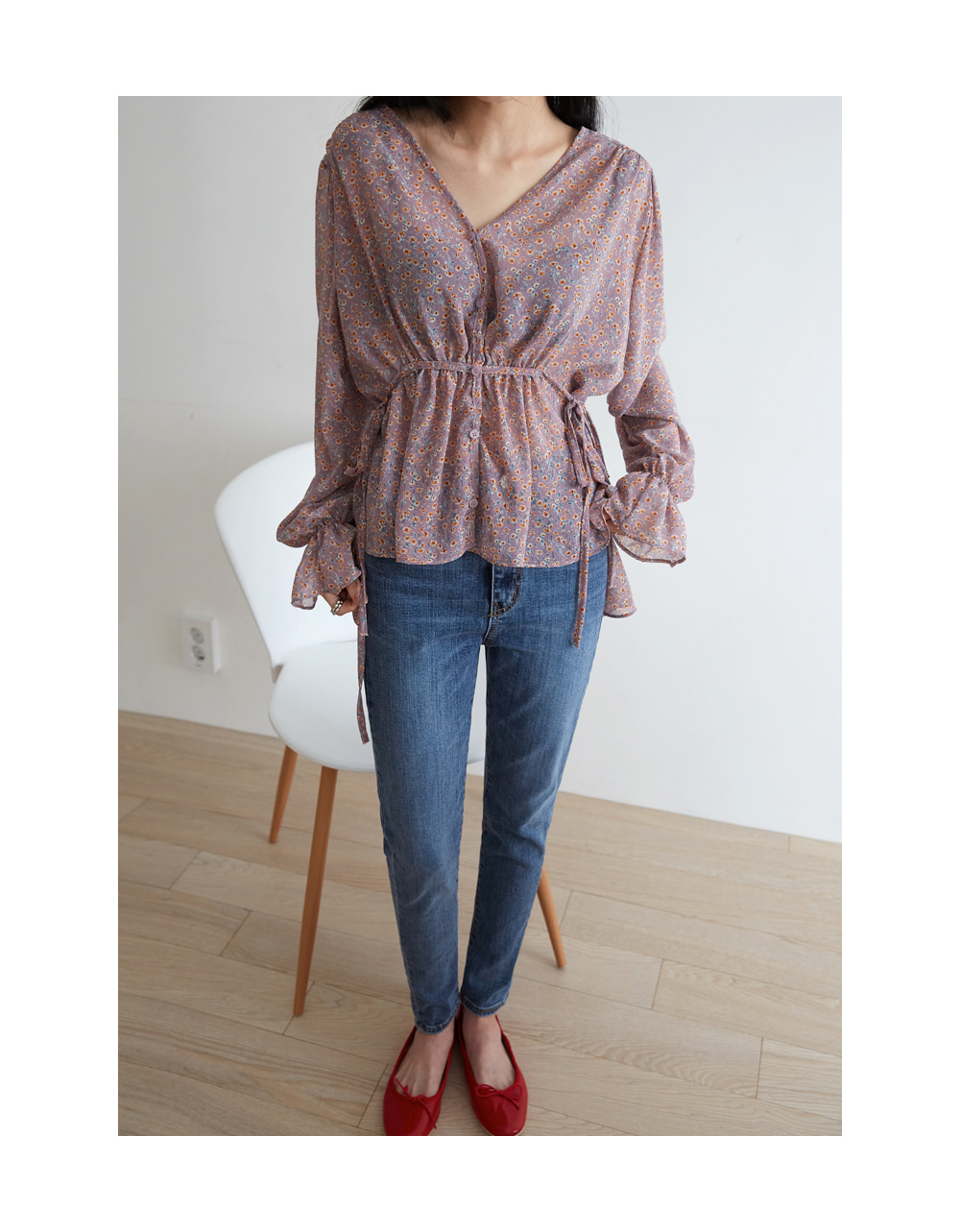 purity string blouse