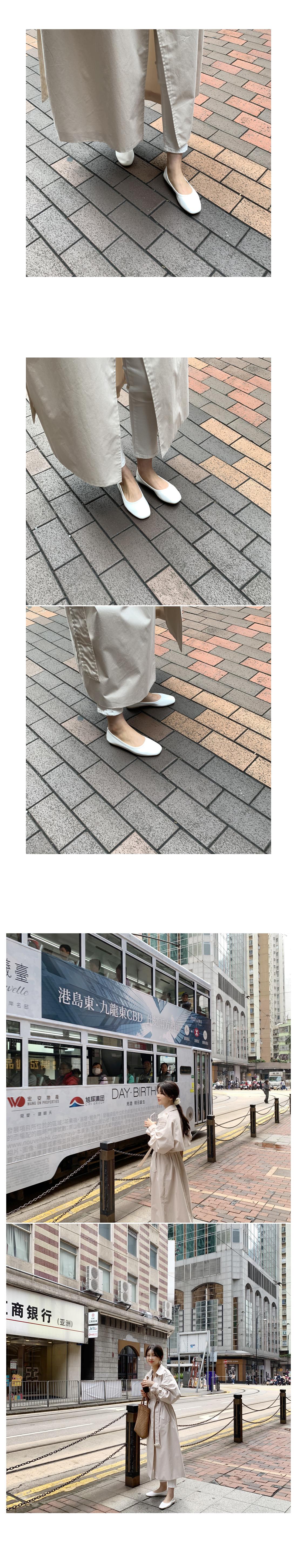 Plain Simple Flat Shoes