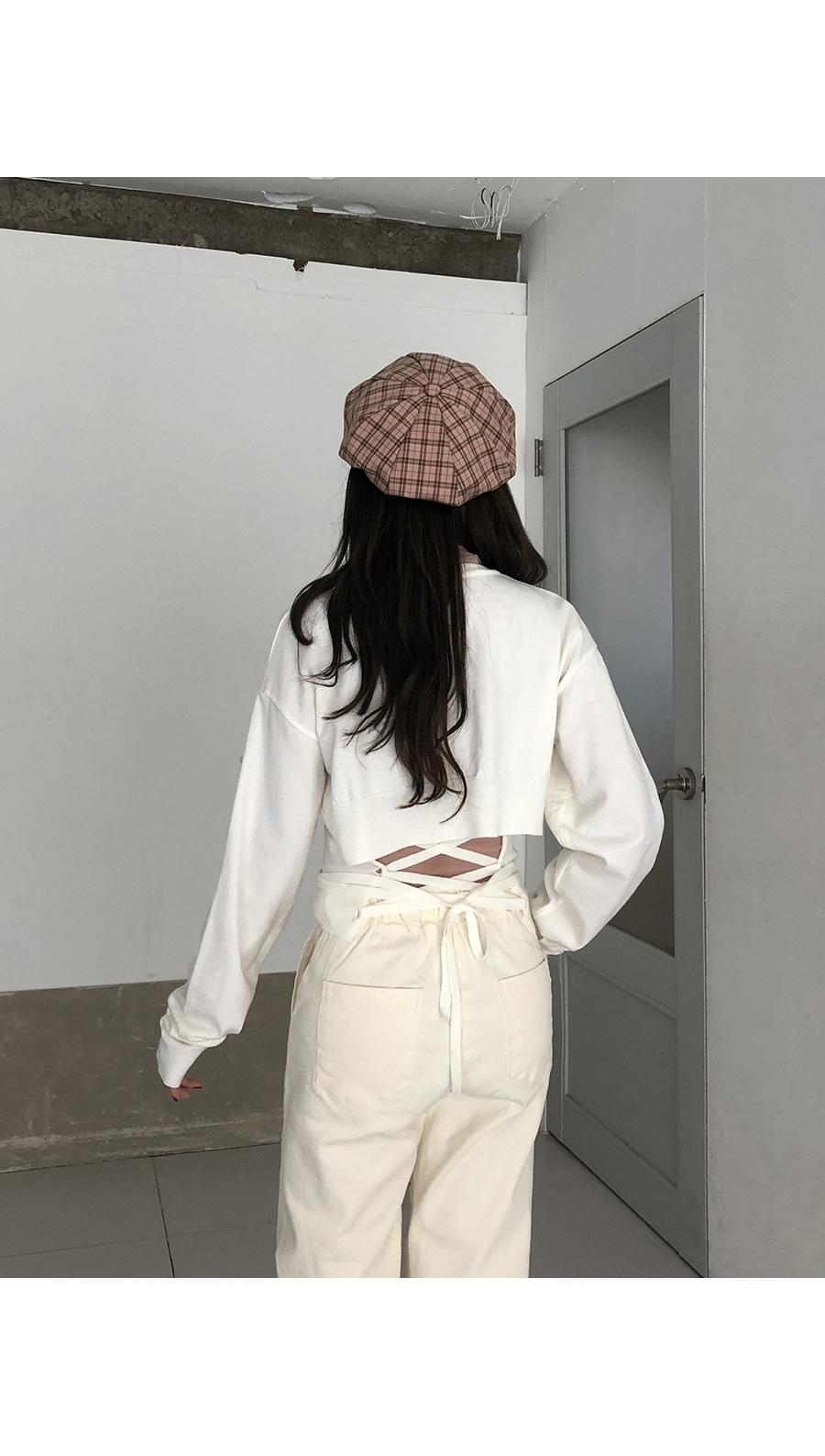 VIEN Octagonal Check Cap