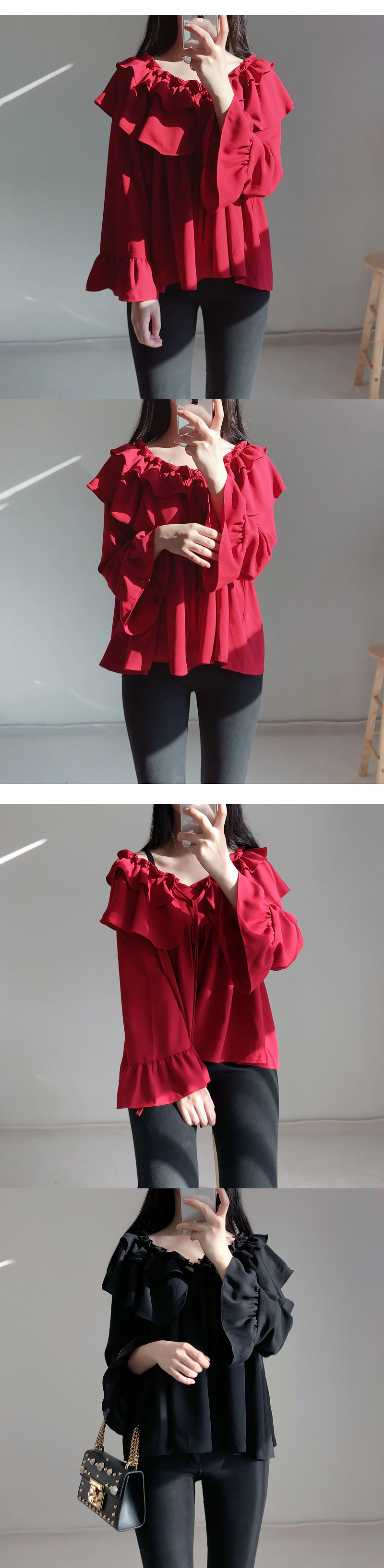 Self-made ♥ cancan frill