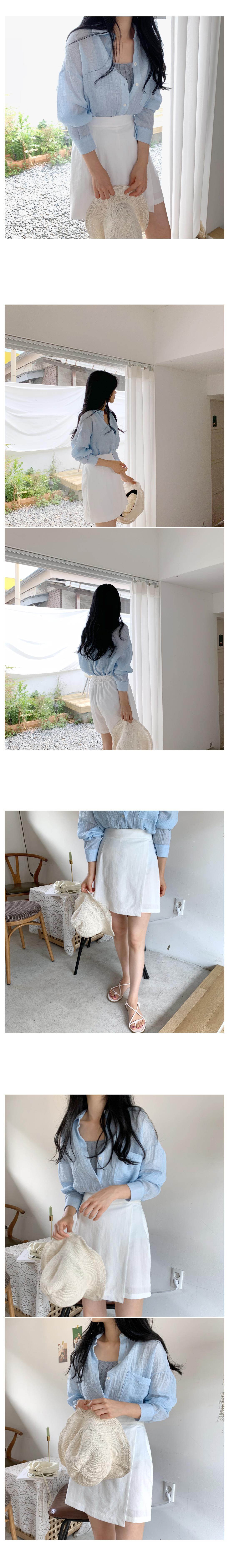 Matilda Wrap Shorts-White