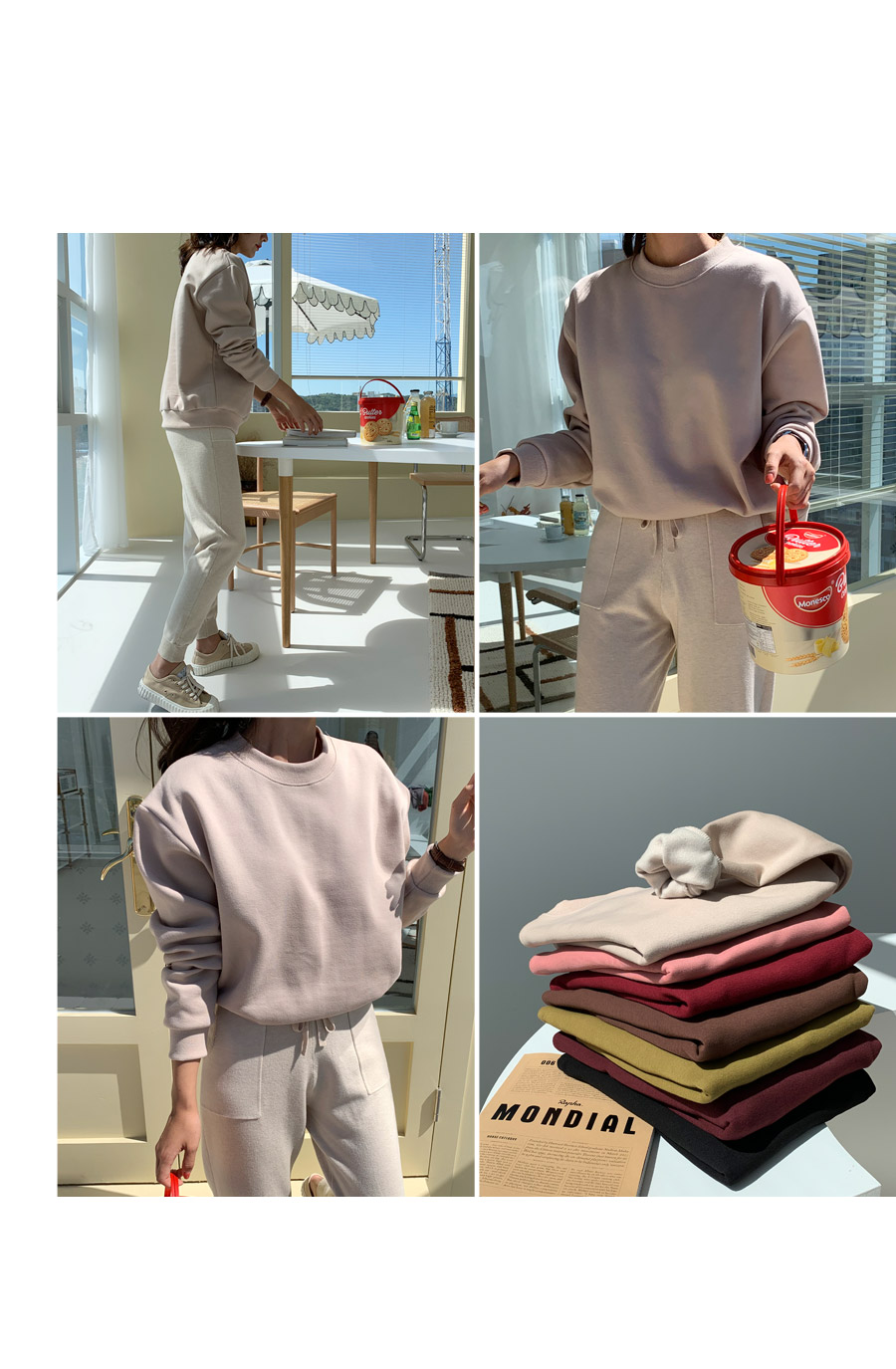 Loja knit jogger pants