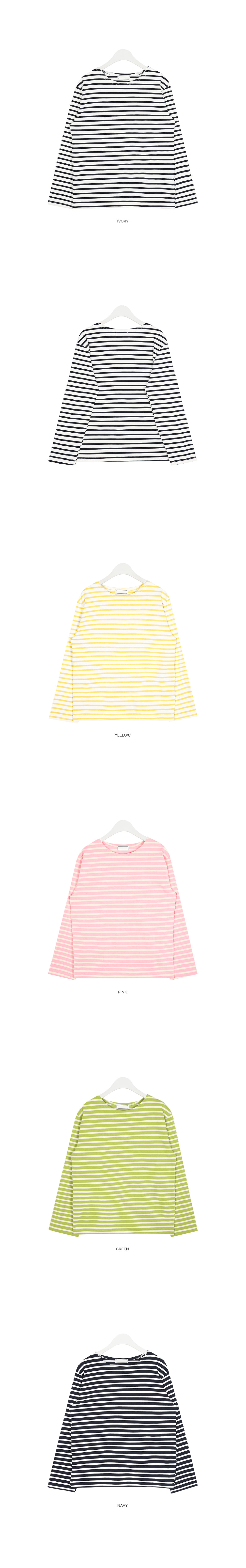 stay stripe round T