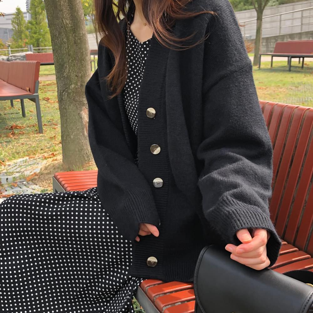 Dutum Wool V Cardigan 開襟衫