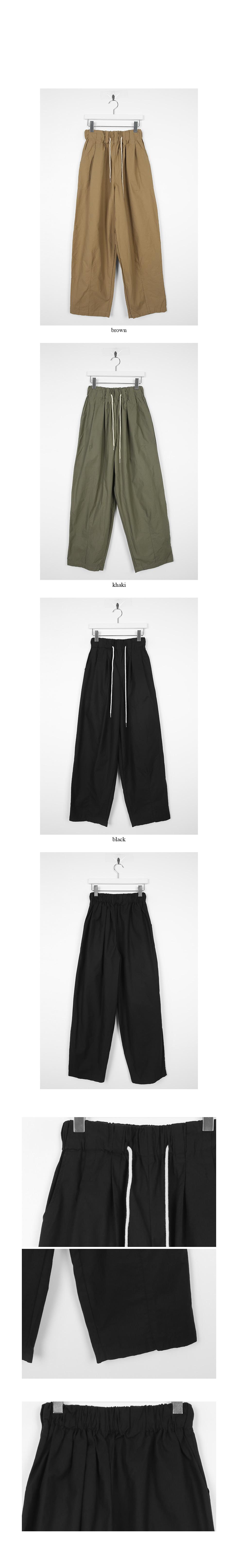 maxi string cotton pants