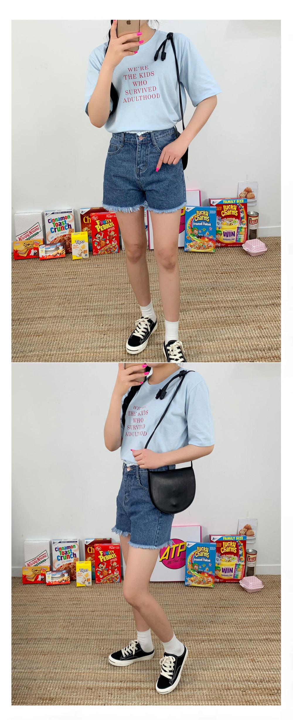 Flat Half Cross Bag