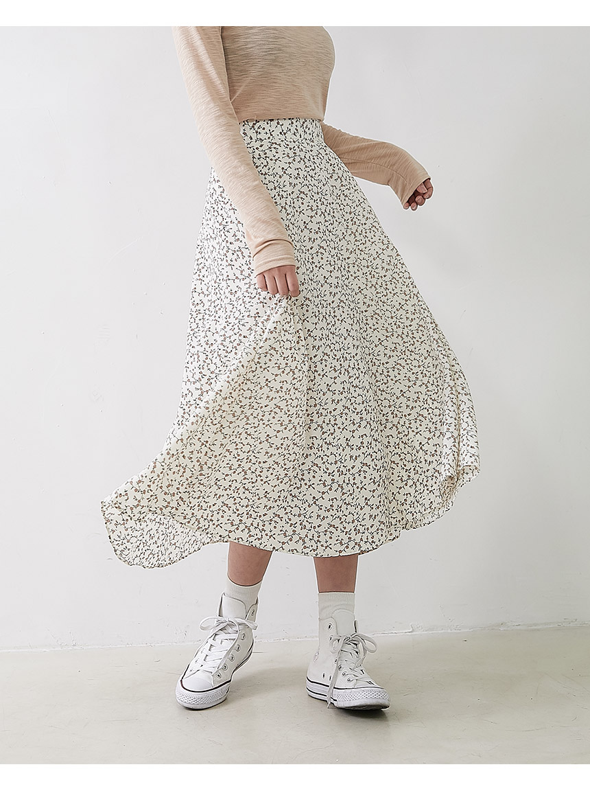 Lot Em Flower Skirt