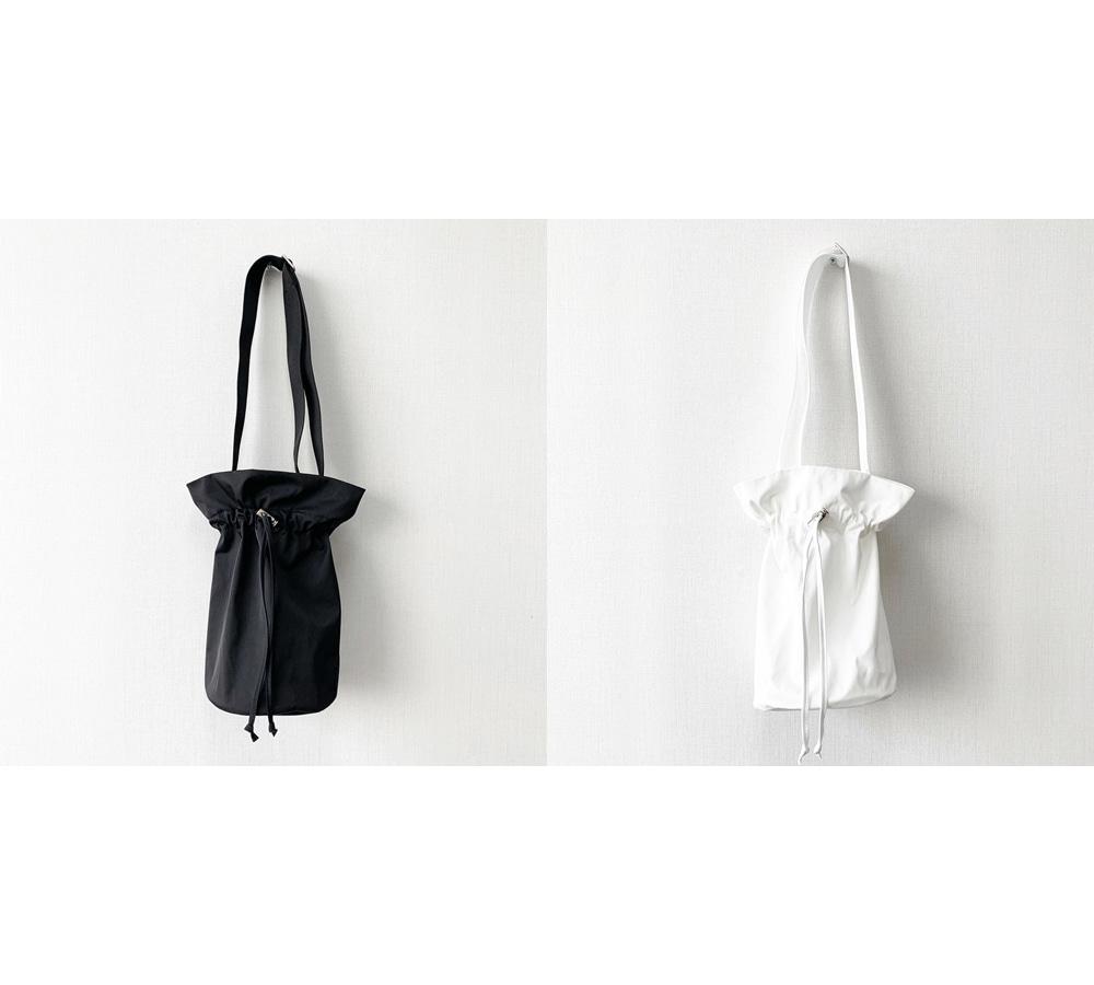 Absorbing bucket shoulder bag