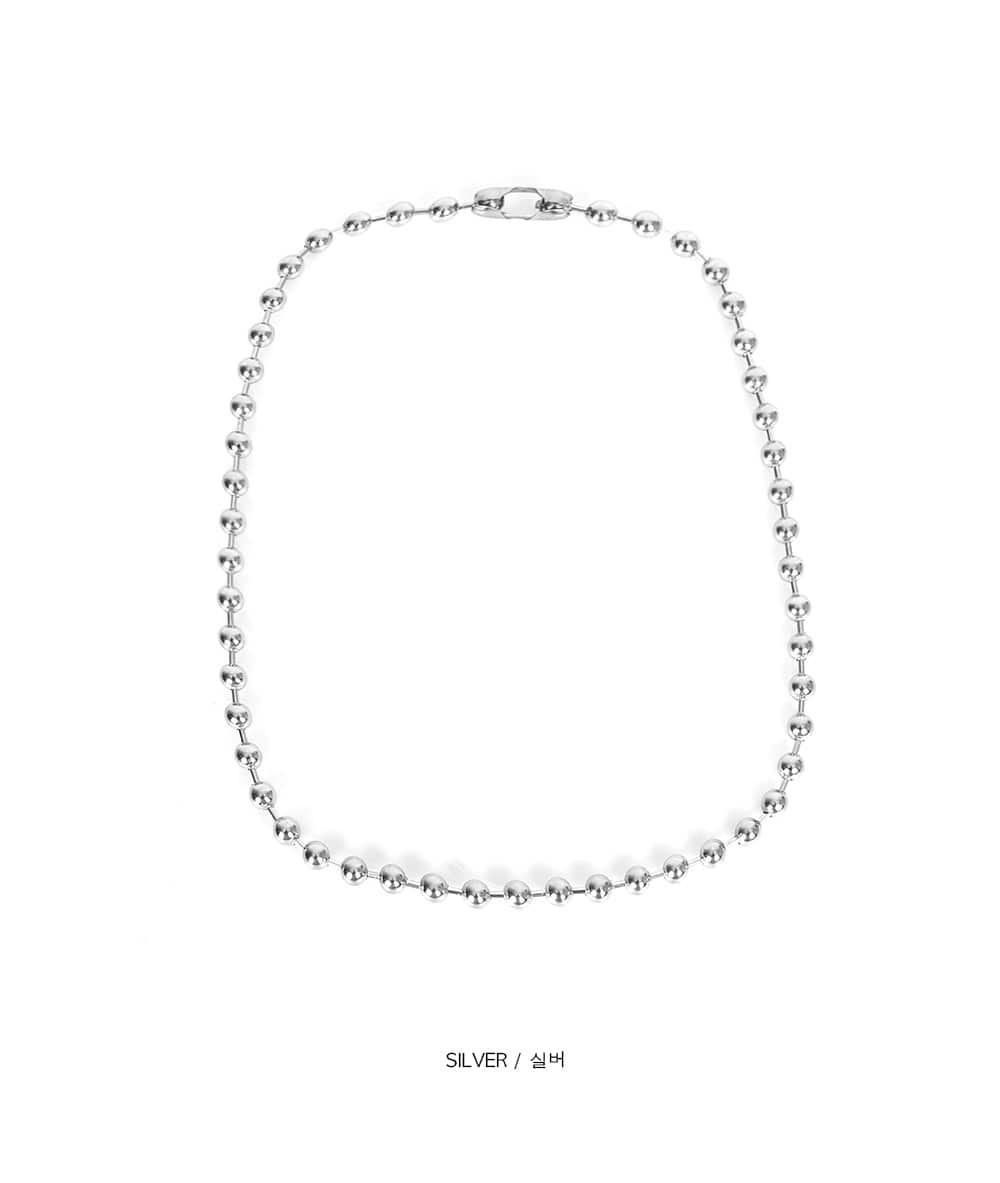 ball chain necklace - large