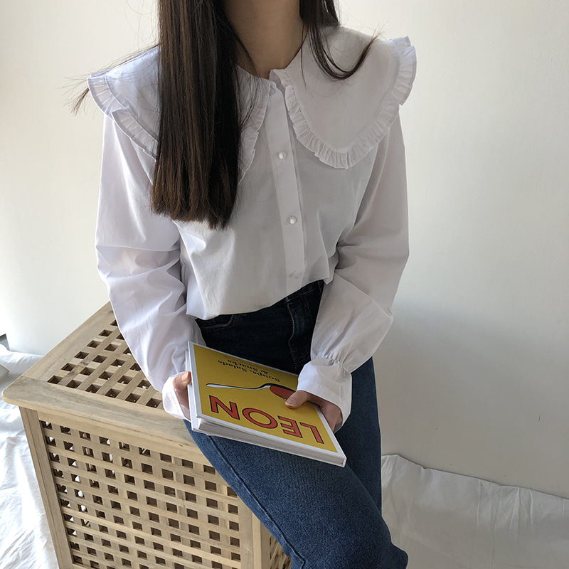 Rounded vikara blouse