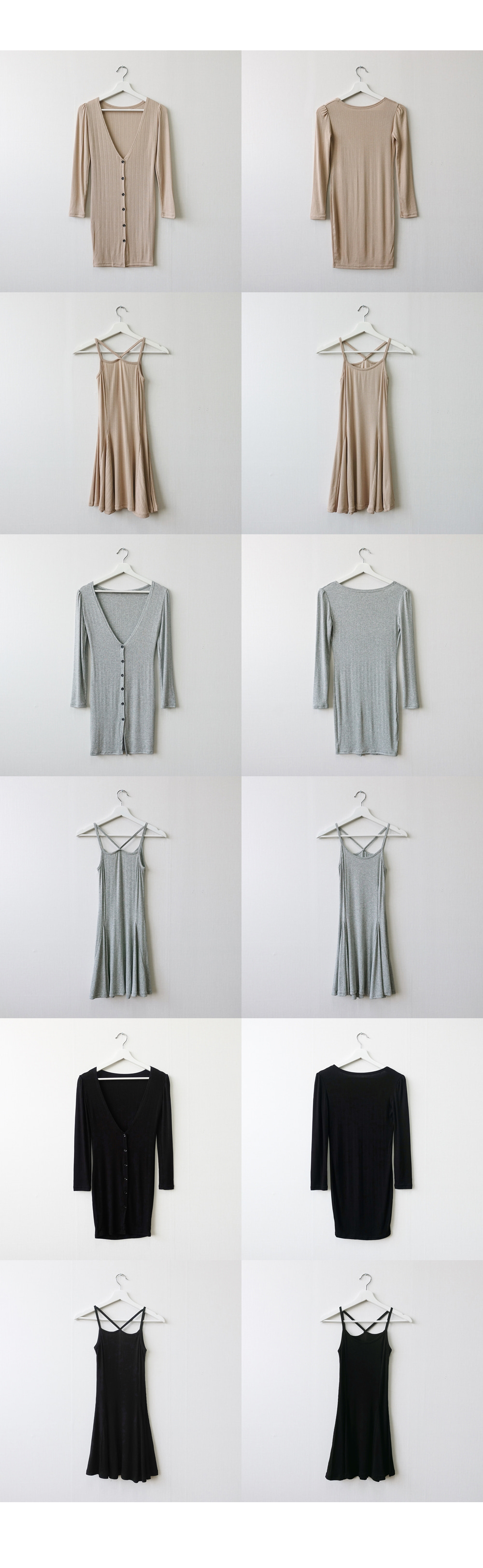 Goliard cardigan + x-nashi dress set