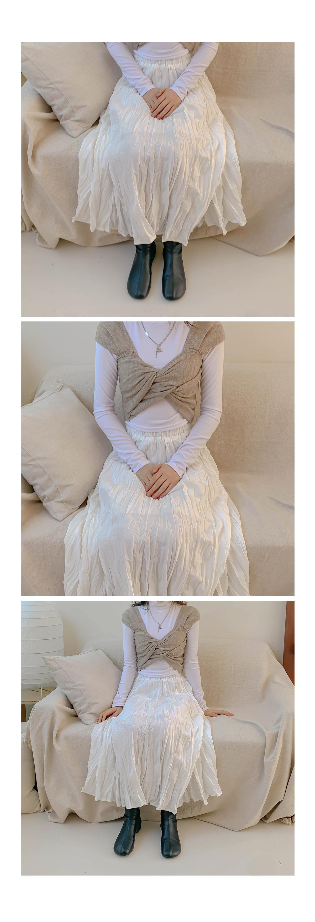 Twisted Ella Knit Bustier