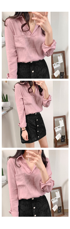 Flower lace jewel skirt 2 color