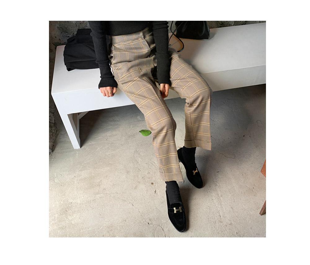 ALL Slacks Autumn Check pants
