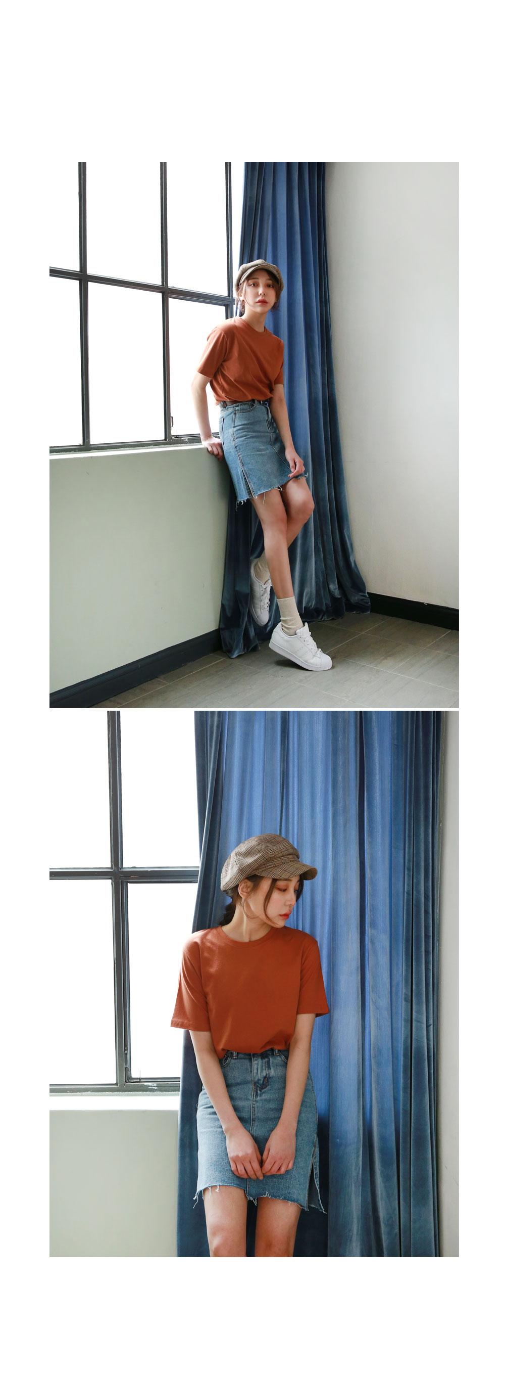 Modal Vintage Short Sleeves