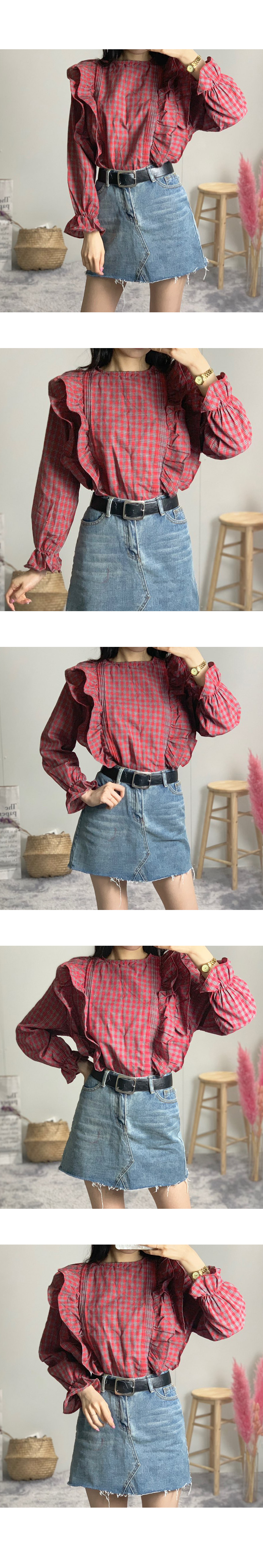 Candy frilly blouse