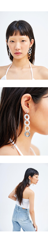 doughnut earring