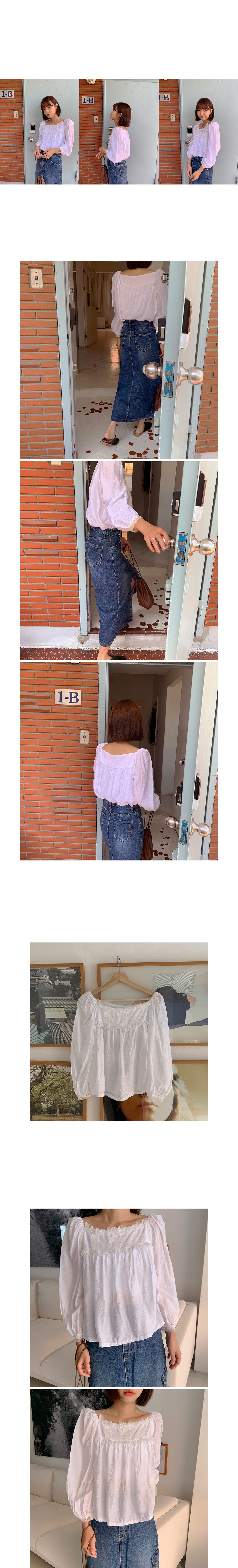 Silk ring blouse