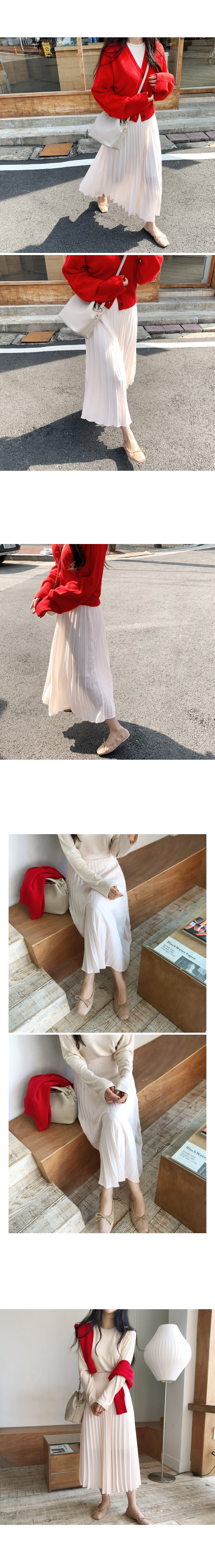 Lunch ribbon flat shoes