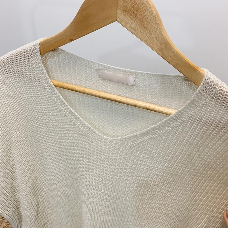 Leopold Hachi V Neck Knit