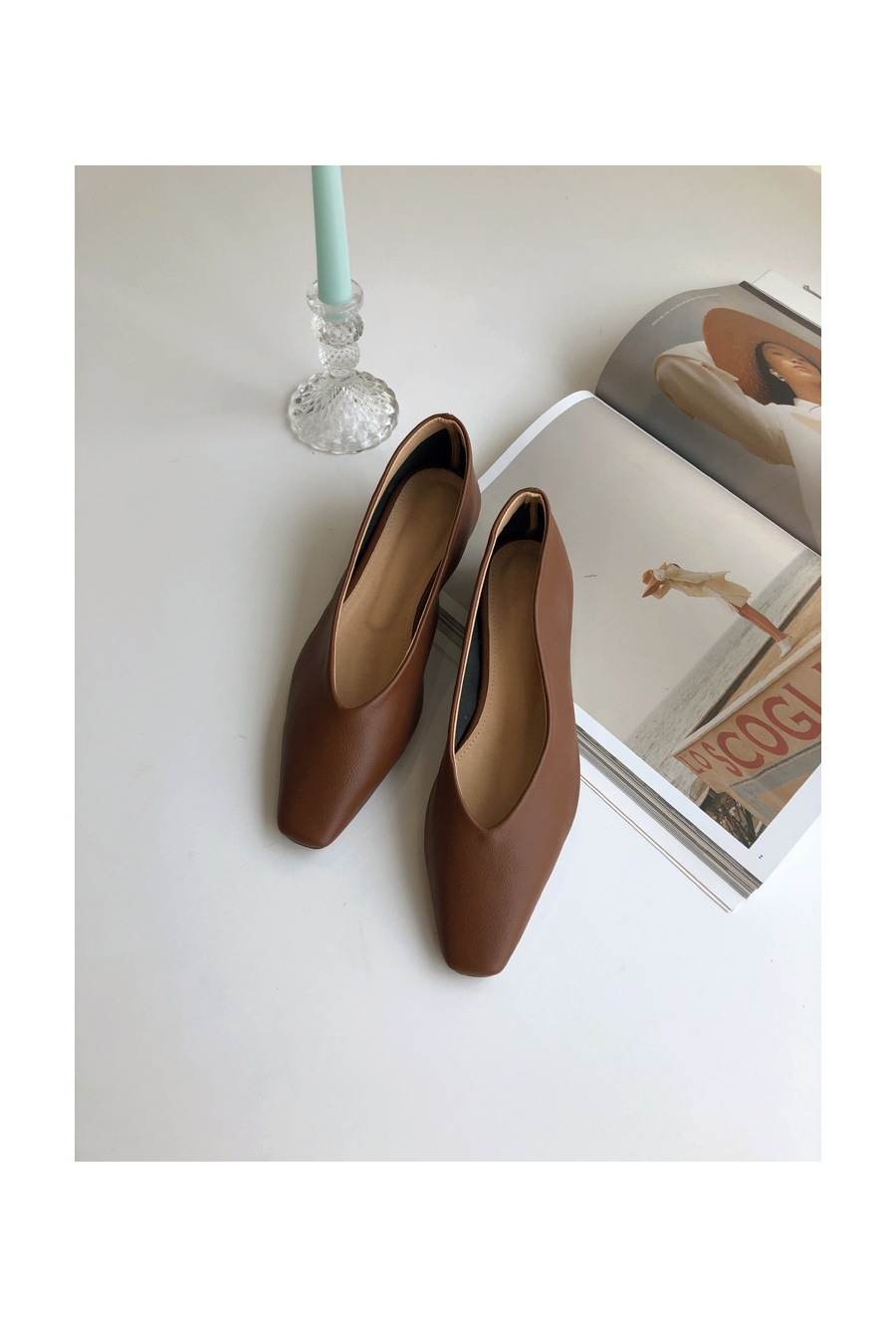 Feminan shoes brown 225 / beige 245