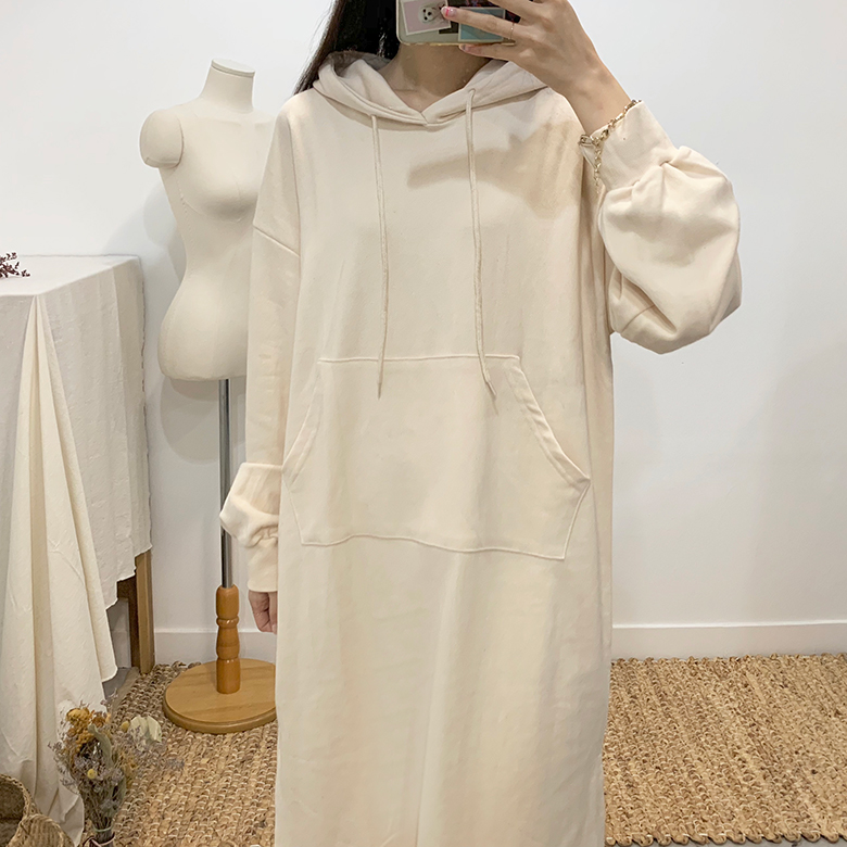Venetian Daily Hood Long Dress