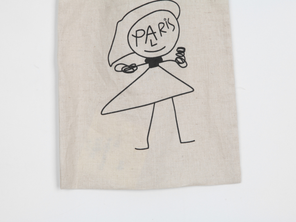 Paris Drawing Eco Bag