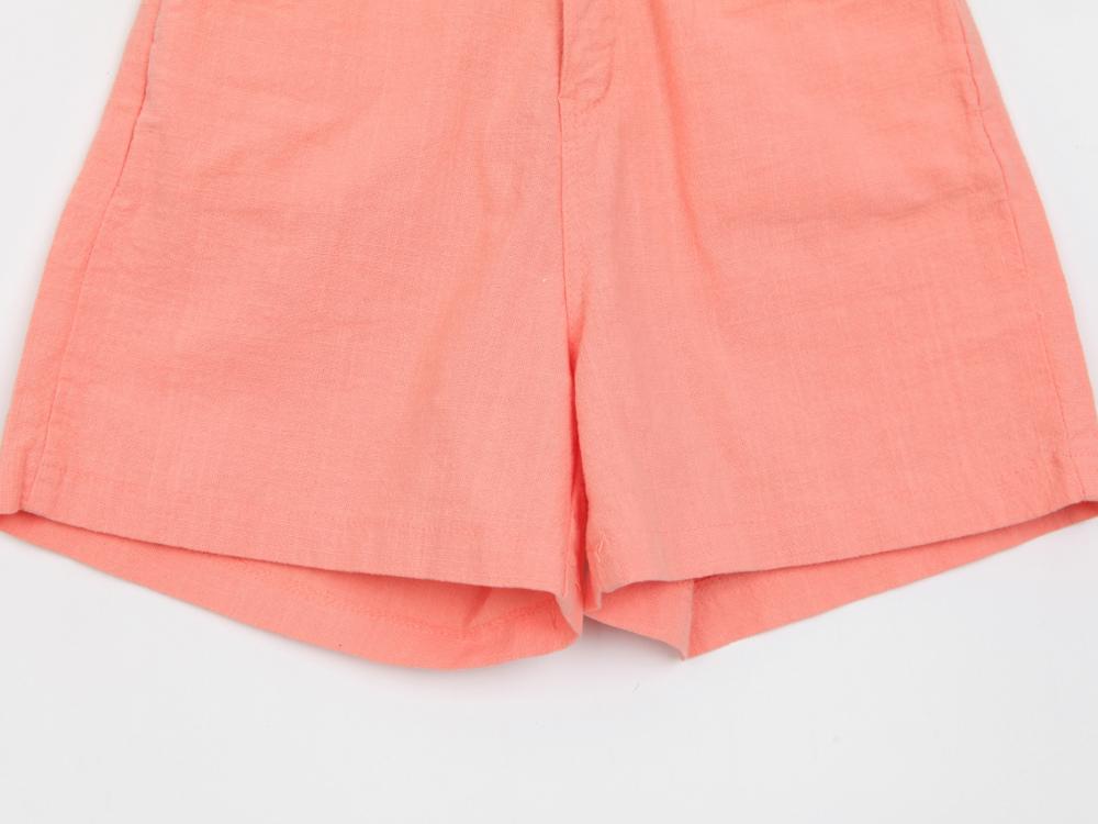Draped Cotton Short P