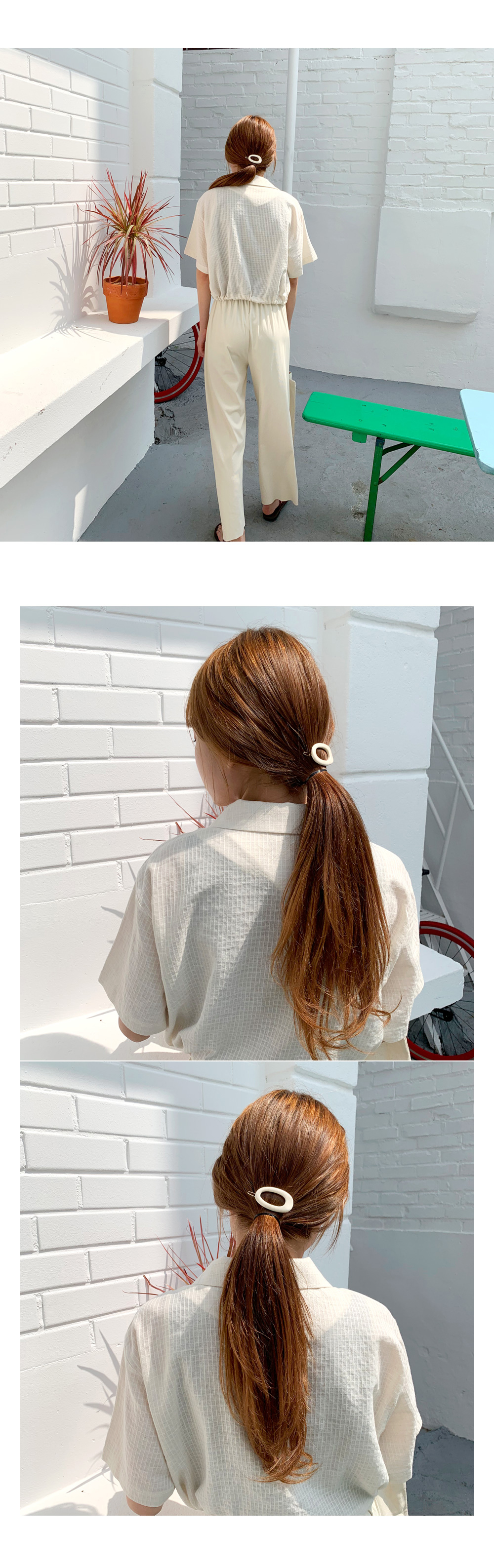 Marble dongle hairpin