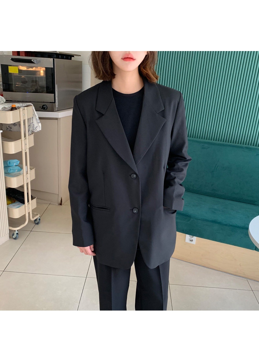 French two-button jacket