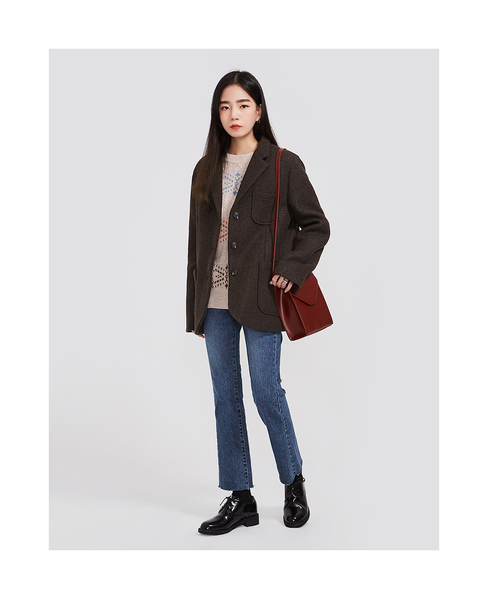 clearly boots cut pants (s, m, l)