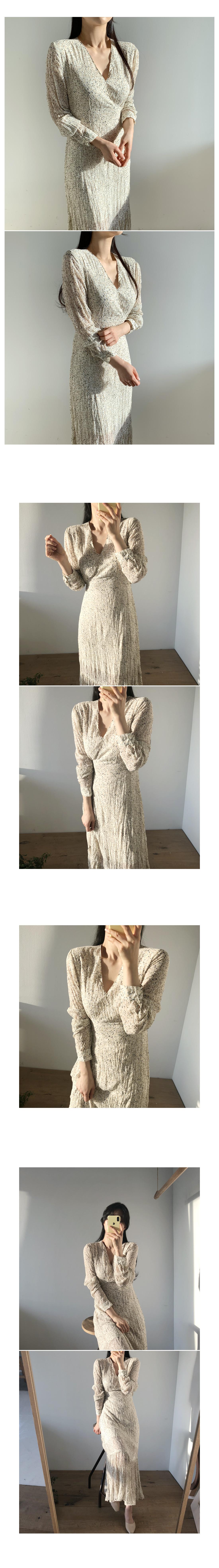 Flora Chiffon Long Dress