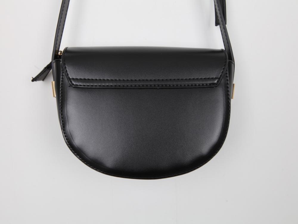 Round Button Cross Bag