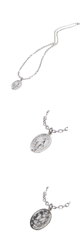 maria cross necklace