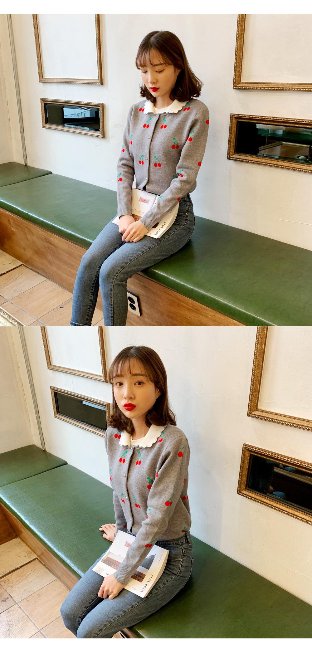 ☆ Nojinjin special price ☆ Cherish knit cardigan