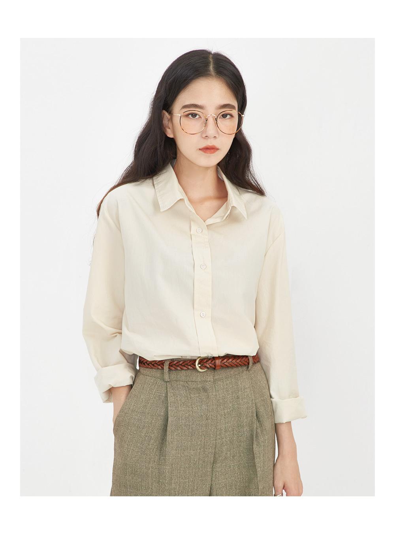 fall standard cotton shirts