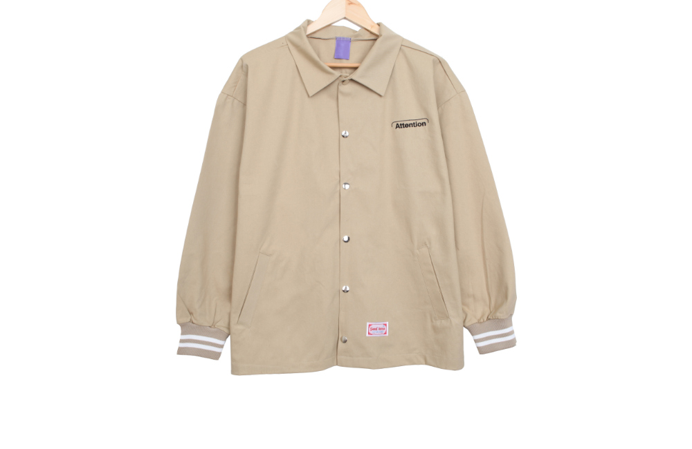 ☆ Namajin special price ☆ Band cotton porch jacket
