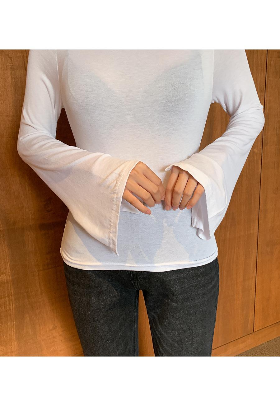 Boatneck Rayon T-Shirt