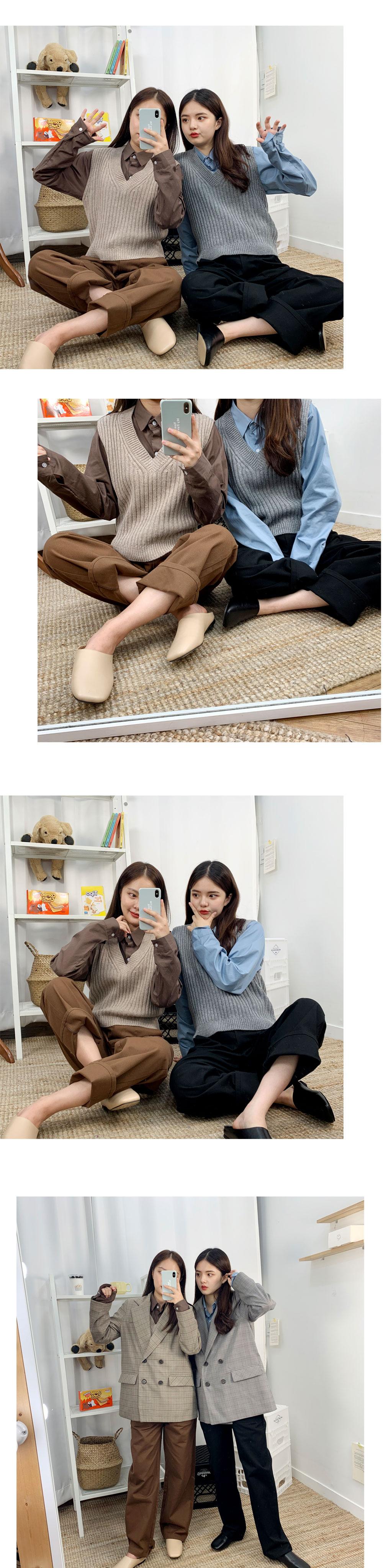 ☆ Nojinjin special price ☆ Bijo cotton straight pants
