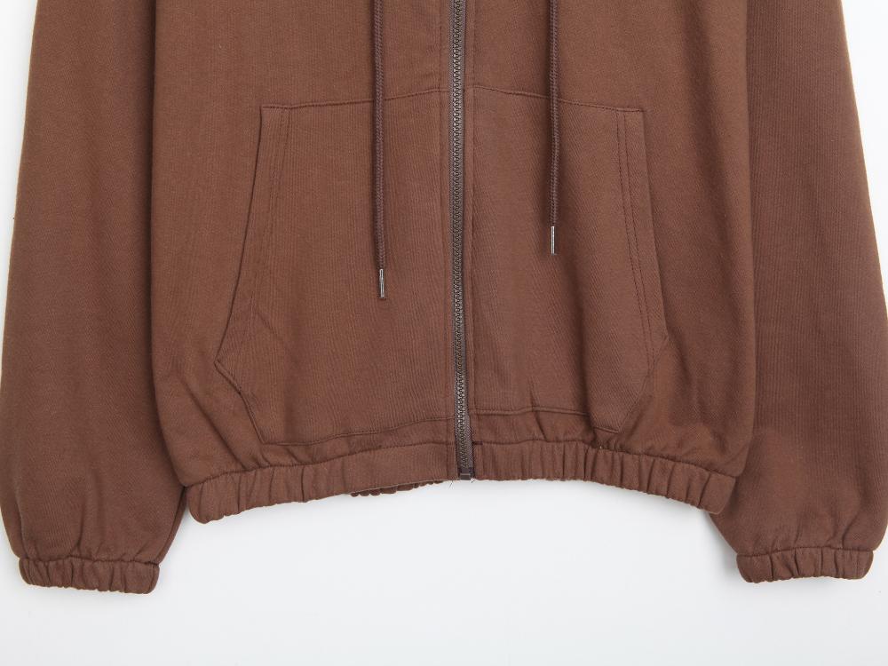 Basic Daily Hood Zip-up