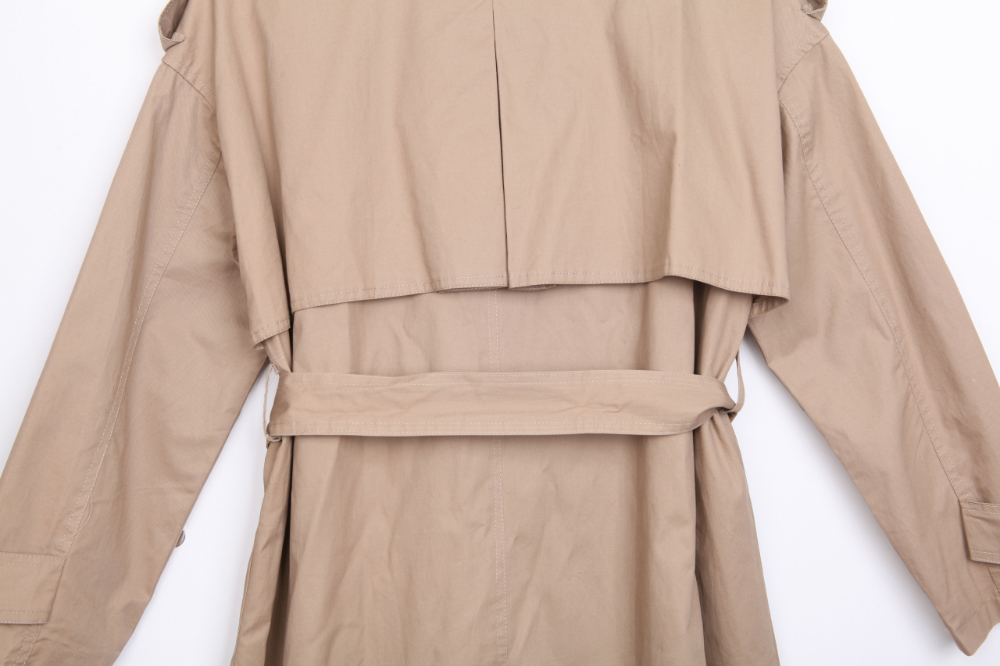 ☆ Namajin special price ☆ Hot chocolate double trench coat