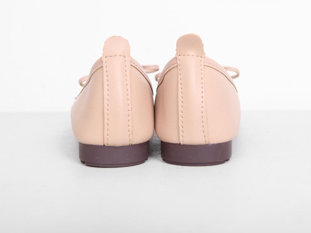 Ribbon Square Flat Shoes