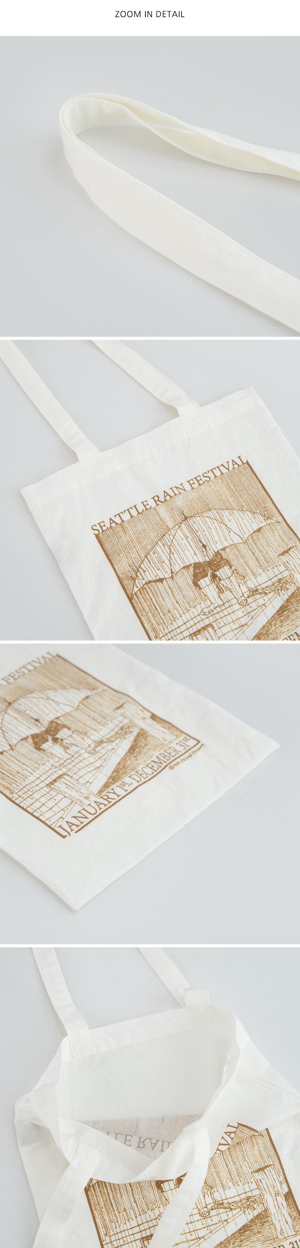 rain printing eco bag