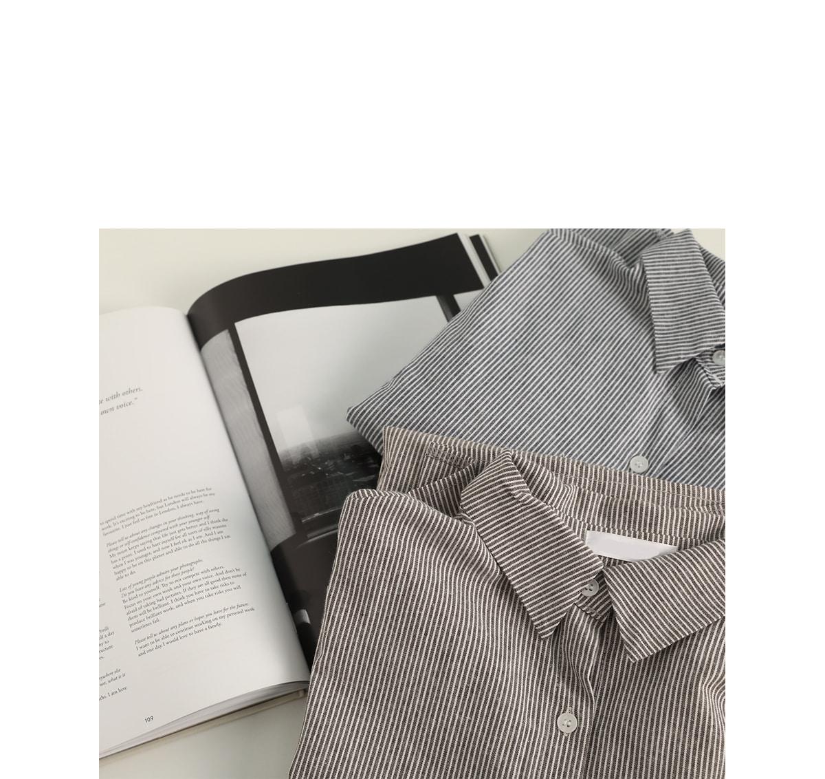 Howell ST Long Shirt Dress