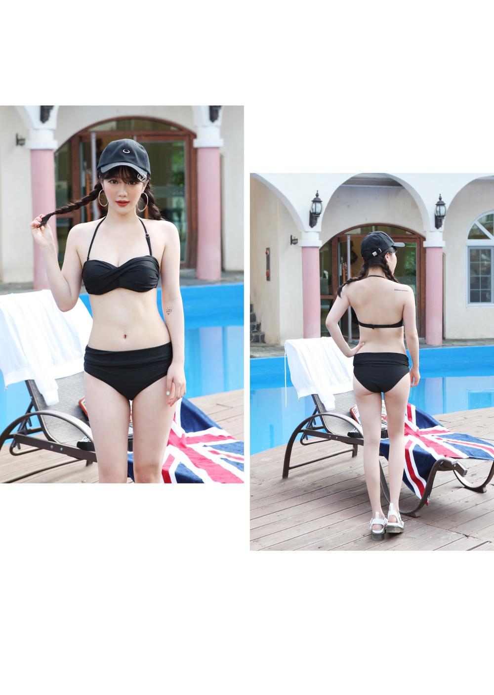 Halter Basic Bikini Monokini / Beachwear / Swimwear