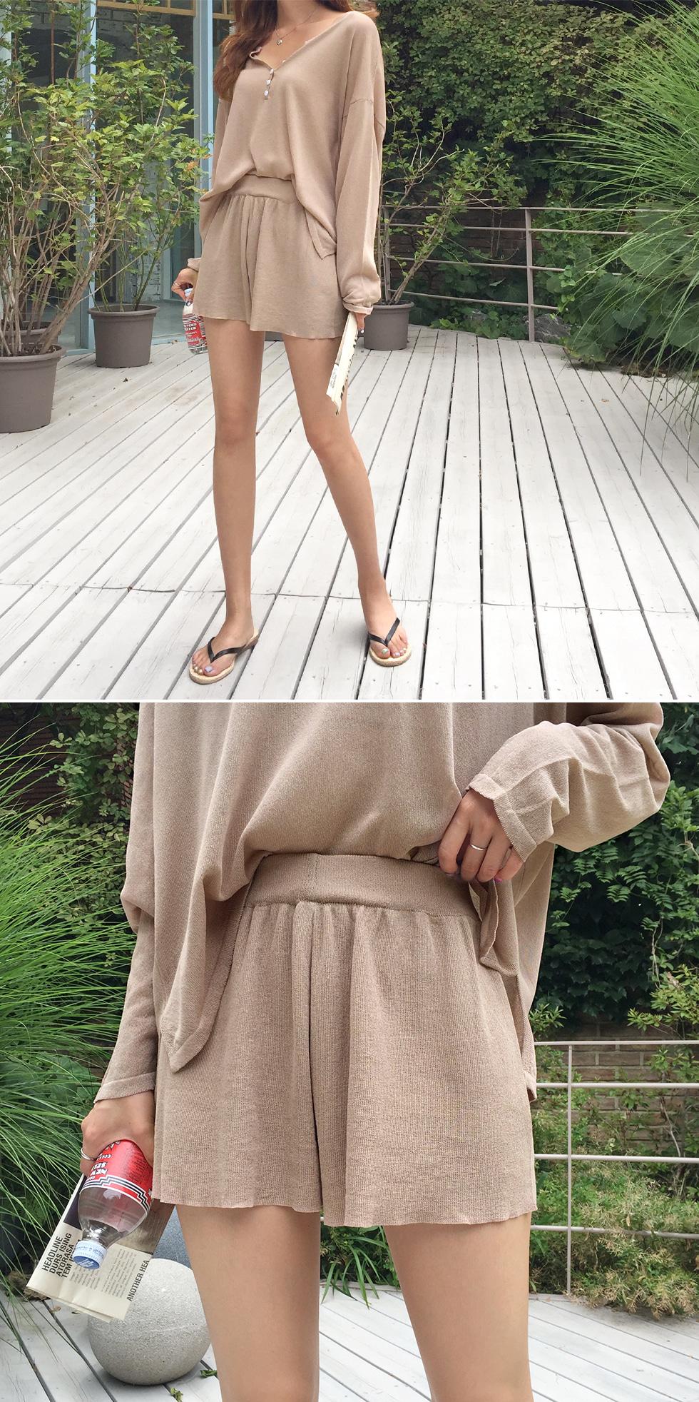 Summer Tissue Knit Set