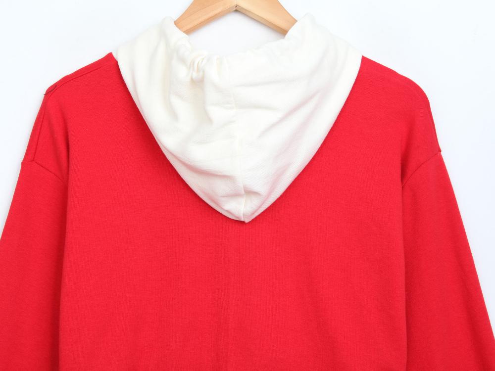 Double Chance Color Crop Hood Zip-up
